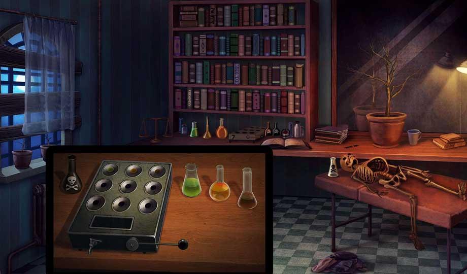 بازی اتاق فرار Horror House Escape Games